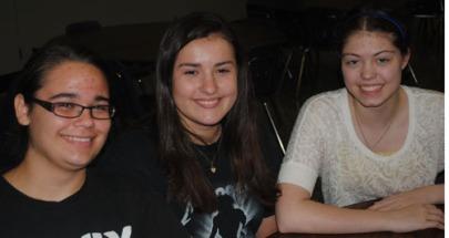 Victoria Gibson, Allison Hedge, & Ashley Allen