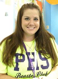 English teacher Brooke Boyer