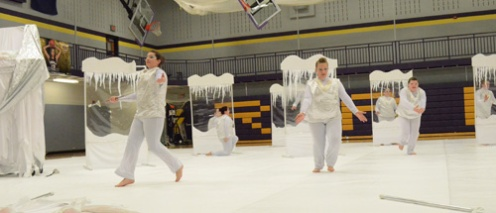 PHS Winter Guard performs their 2013 show.