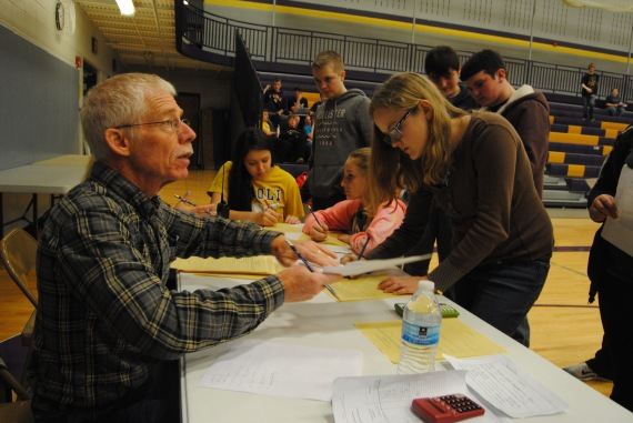Former guidance counselor Jim O'Connell takes critiques over the Reality Fair.