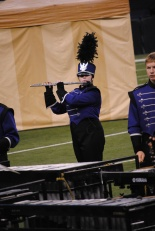 Junior Bella Anderson performs her solo during BOA.
