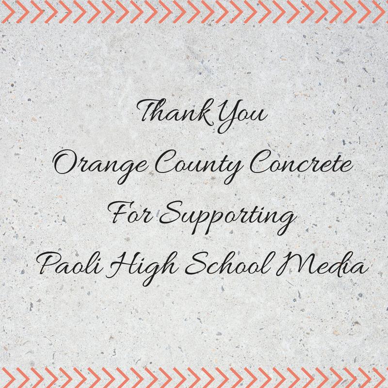 thank-youorange-county-concretefor-supportingpaoli-high-school-media