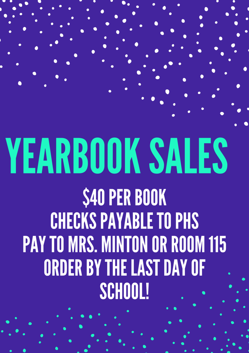 Yearbook Sales!