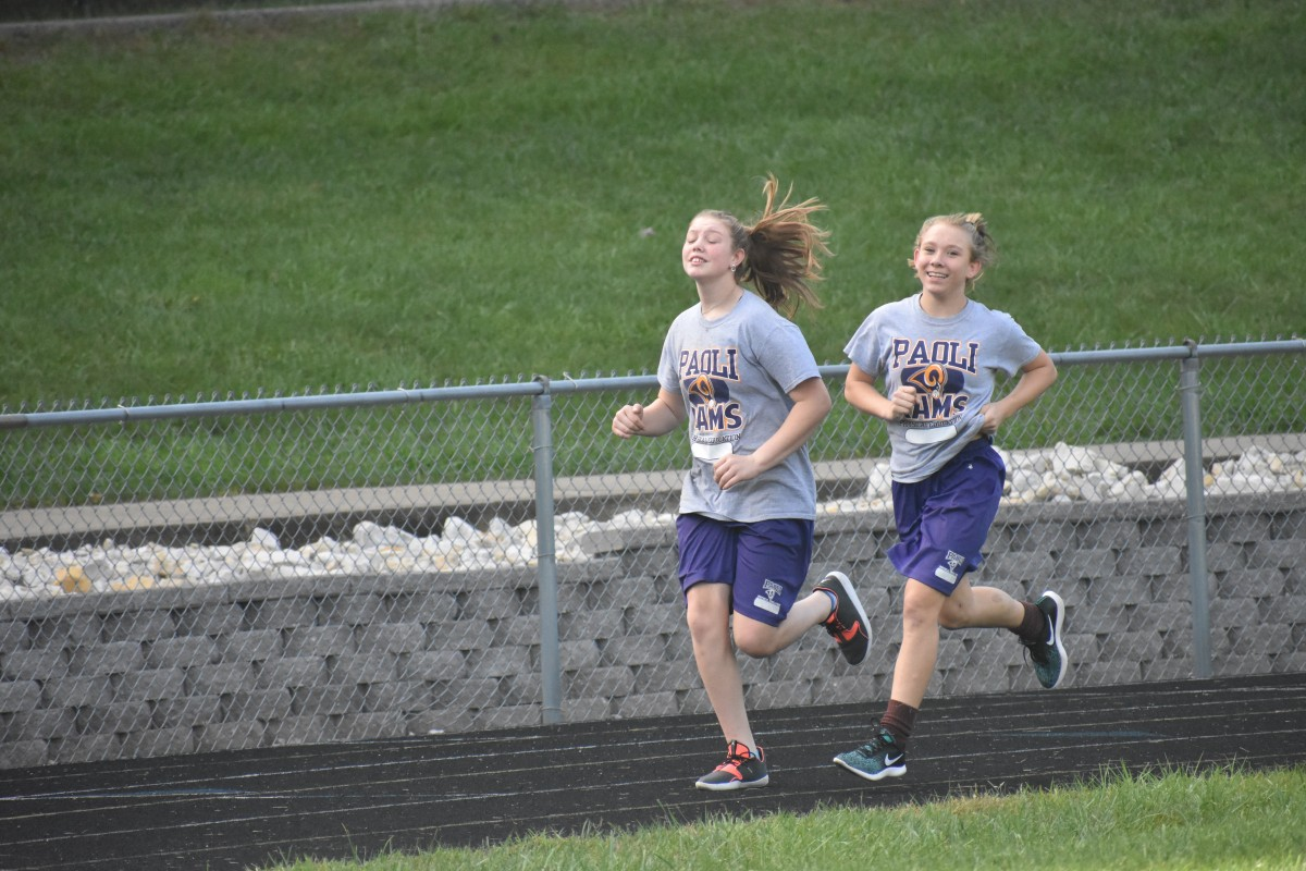 Junior High Mile Run