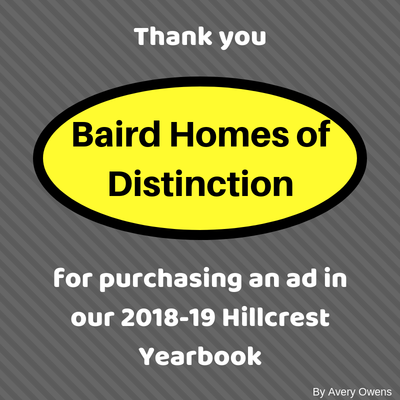 Thank You Baird Homes Of Distinction Phs Media News