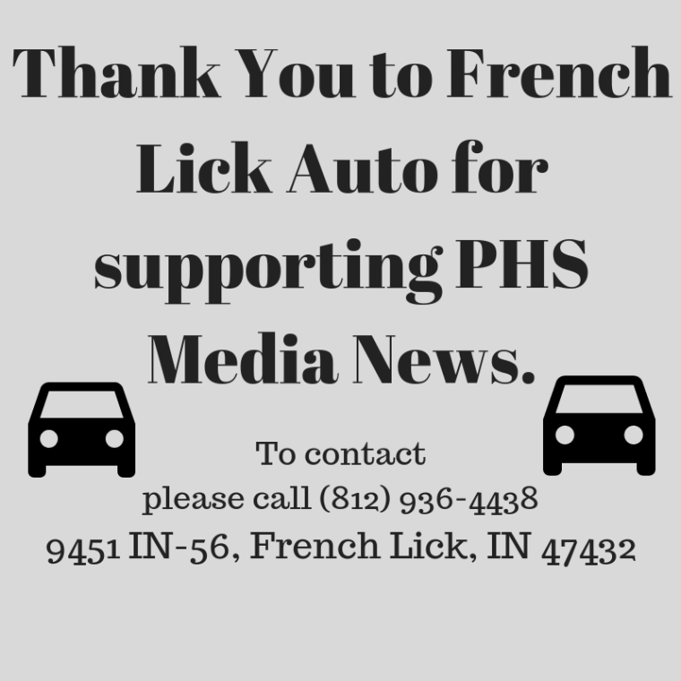 Thank You to French Lick Auto for supporting PHS Media News